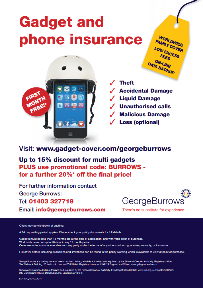 Phone and Gadget Insurance